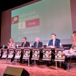 Debates of candidates for the mayor of the Vilnius region without Rekść